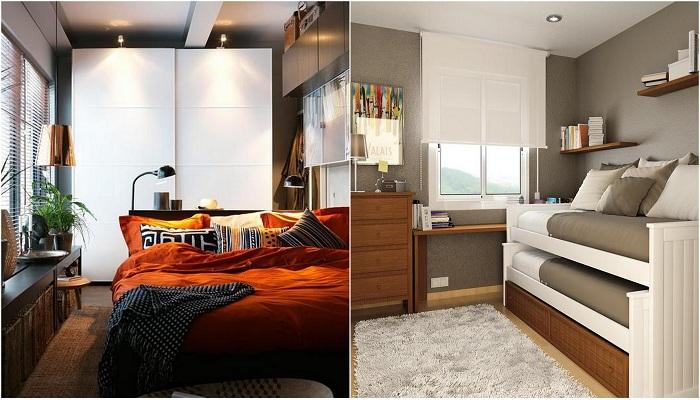 Примеры оформления маленьких спален, которые понравятся каждому.