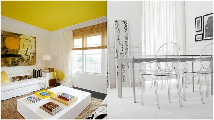 Яркие примеры, расширения пространства в комнате за счет не хитрых приемов.