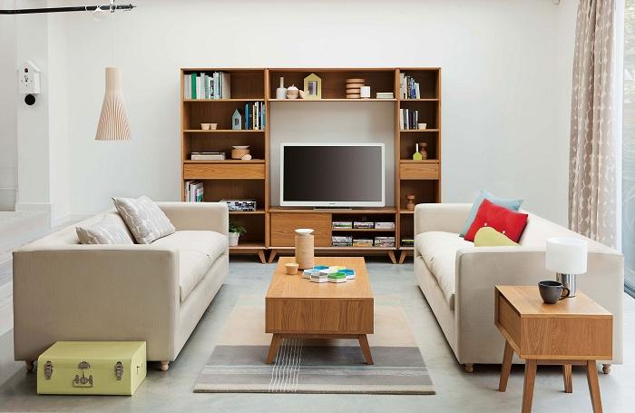 Оптимальное размещение вещей в комнате.
