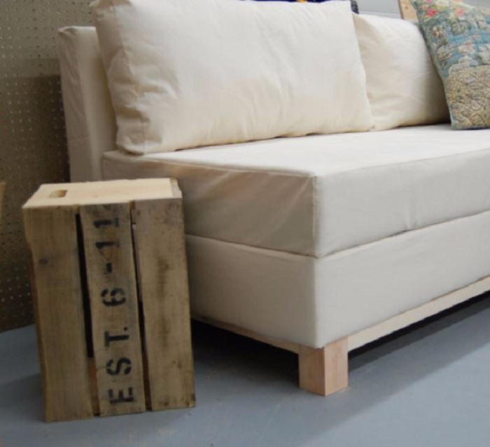 Как диван сделать жестче