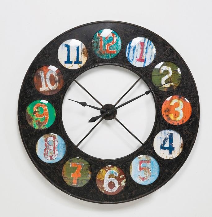 Интересный вариант создать часы под старину, то что понравится.