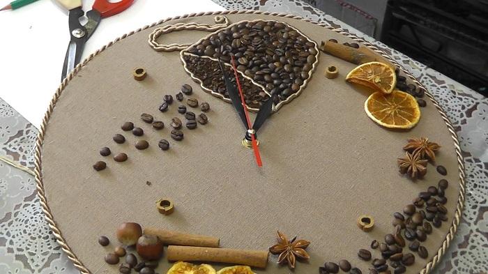 Кофейные часы - станут одним из самых лучших подарков для кофеманов.