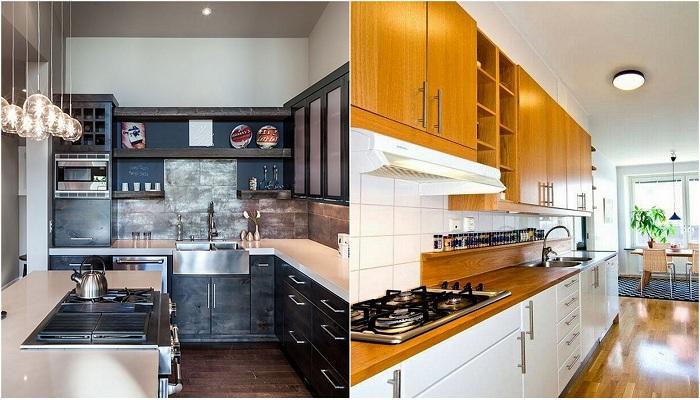 Классные идеи для декора современных кухонь.