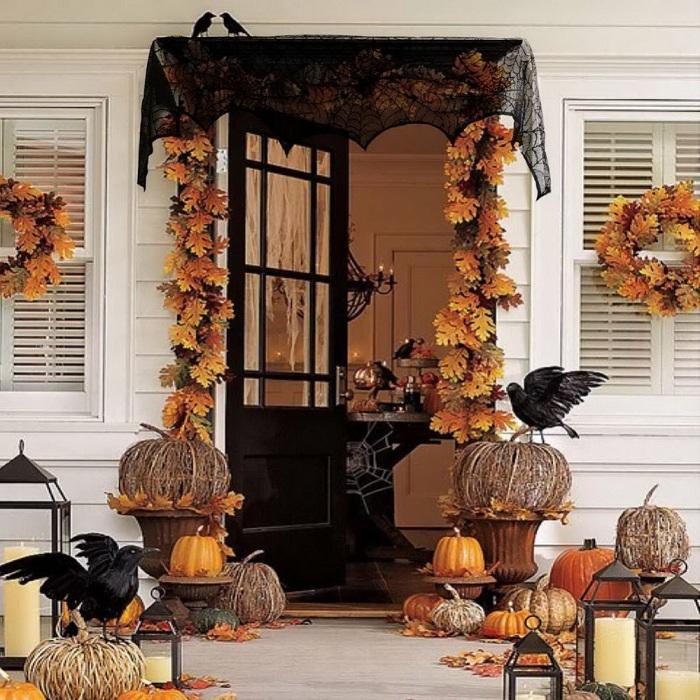 Как украсить дом на хэллоуин в домашних условиях