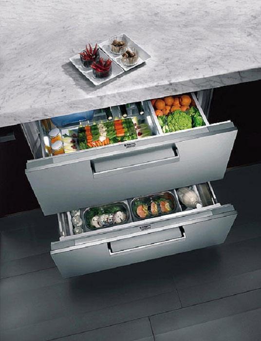 Крутые ящики на кухне, которые отлично подойдут для хранения овощей.