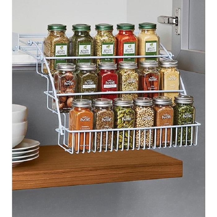 Оптимальное решение для создания очень крутого и прекрасного варианта для хранения сыпучих на кухне.
