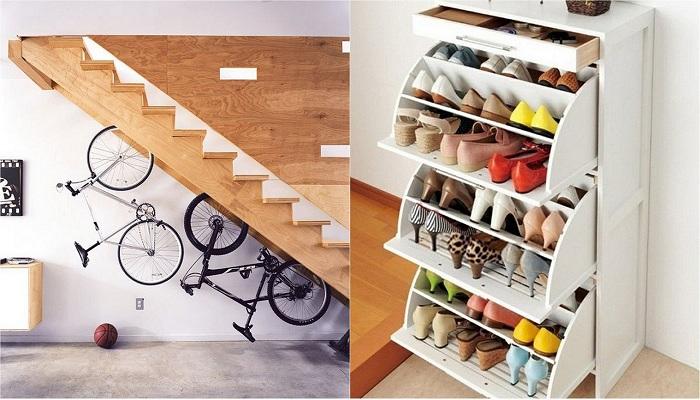 Хорошие идеи для декорирования маленьких пространств.