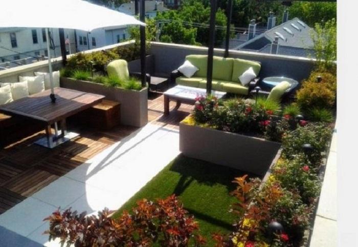 Отличный декор крыши, который станет просто хорошим и самым лучшим решением для преобразования такого пространства.