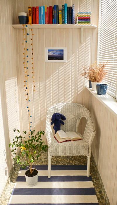 Декорирование балкона, что станет просто находкой в оформлении такого пространства.