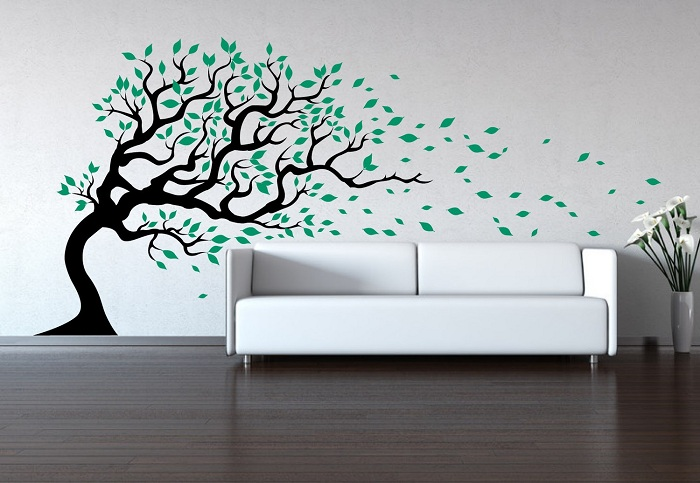 Huge tree wall decal