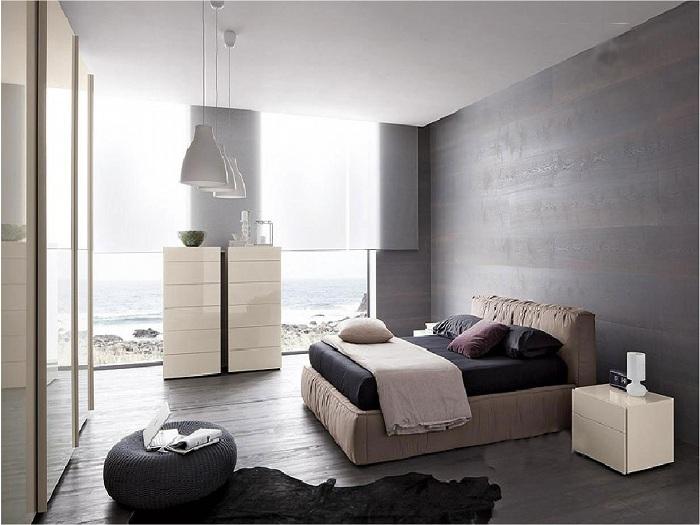 Современный интерьер спальни станет просто находкой.