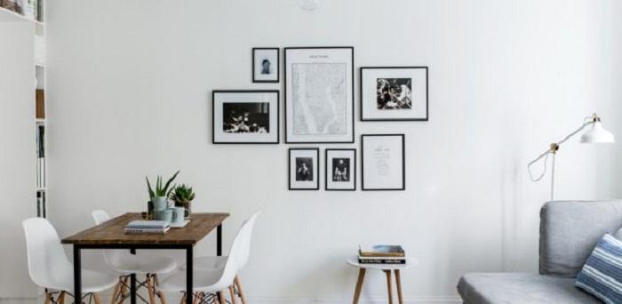 Минимализм и черно-белые рамки, то что точно понравится и создаст особенный стиль.