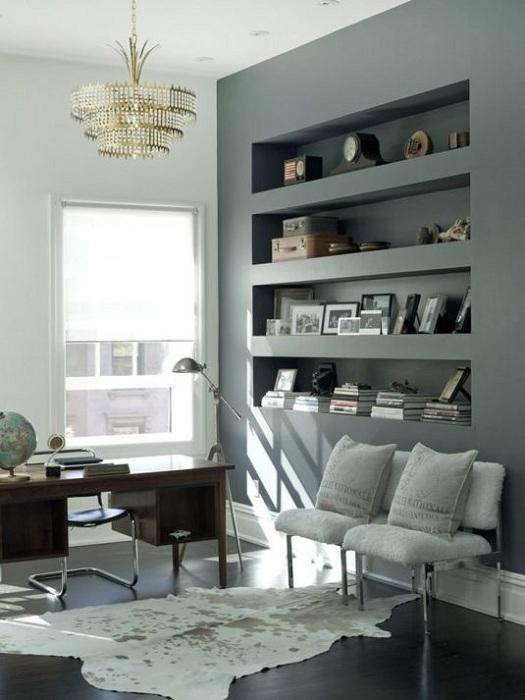 Классное и очень стильное украшение рабочего места дома.