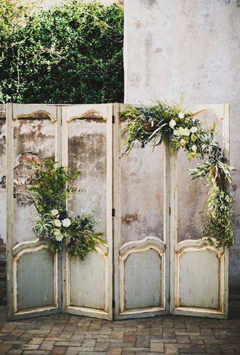 Отменный фон для свадебной фотосъемки, то что создаст потрясающую обстановку.