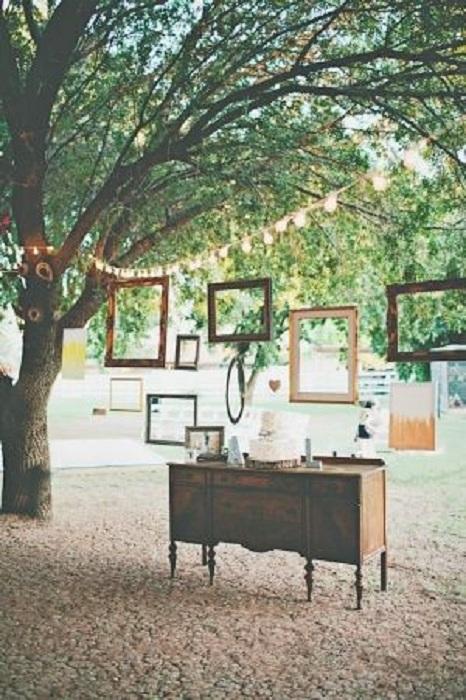 Яркое и воздушное оформление фона для фотосессии, то что создаст сказочную свадебную обстановку.