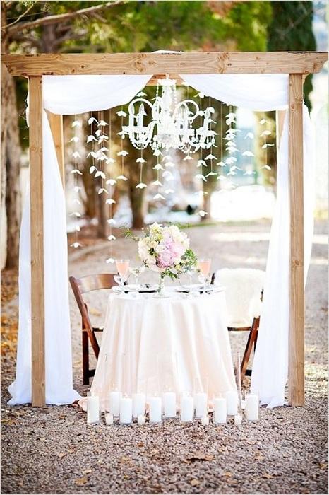 Невероятная легкая и нежная атмосфера для свадебной фотосъемки, то что не может не понравится.