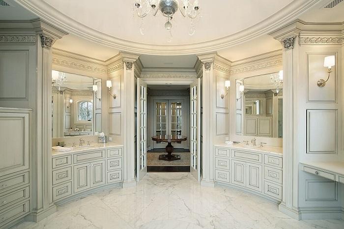 Апартаменты ванной комнаты, что станут просто невероятным моментом в формировании дизайна комнаты такого типа.