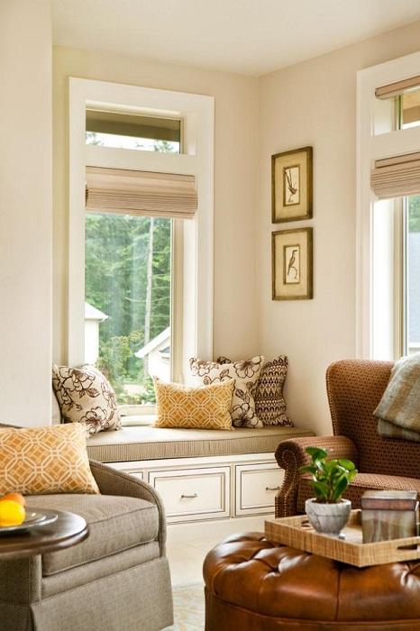 Стильное и очень красивое оформление интерьера с помощью крутых решений.