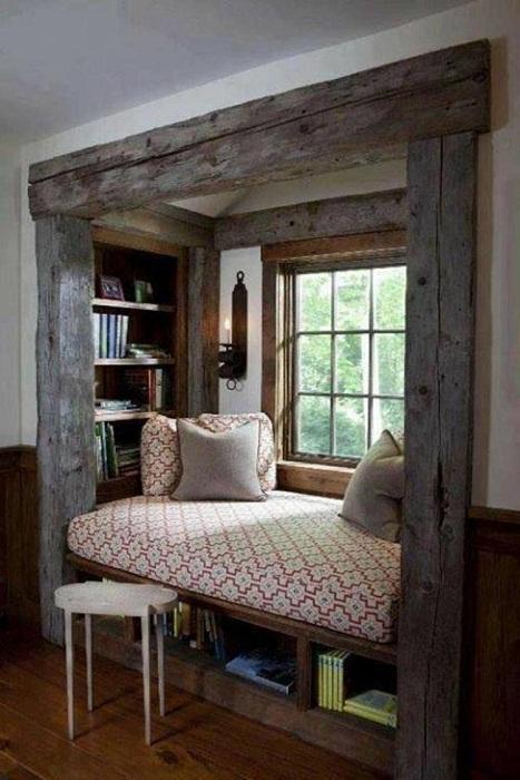 Хорошенький интерьер создан благодаря скандинавскому стилю, что создаст тепло и комфорт.