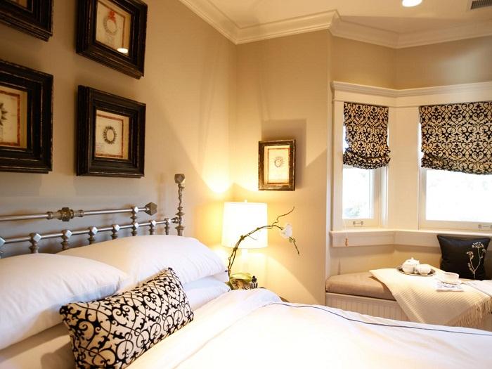 Орнаменты быстро и красиво смогут преобразить комнату и это однозначно понравится.