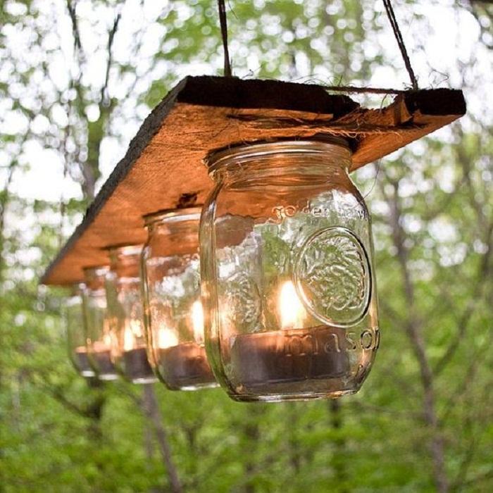 Крутое и очень оригинальное решение для декорирования любого места при помощи таких интересных светильников.
