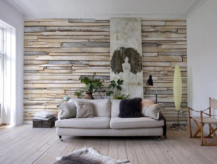 Приятная цветовая гамма и деревянные текстуры в интерьере позволят создать удачный декор.