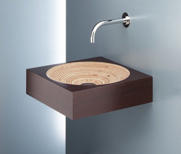 Оригинальное оформление раковины в ванной комнате, которая станет очаровательным дополнением к интерьеру.
