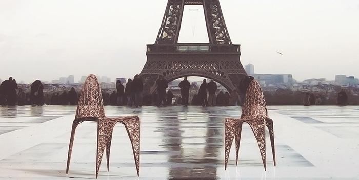 Бронзовая мебель причудливых форм от французской компании Ventury Paris