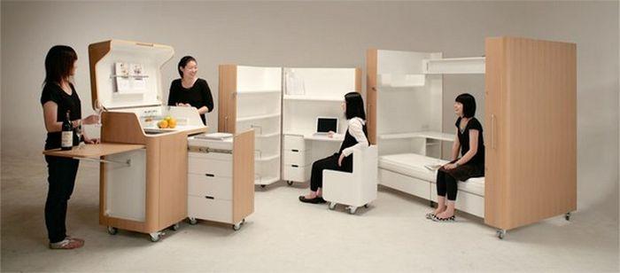Модульная комната