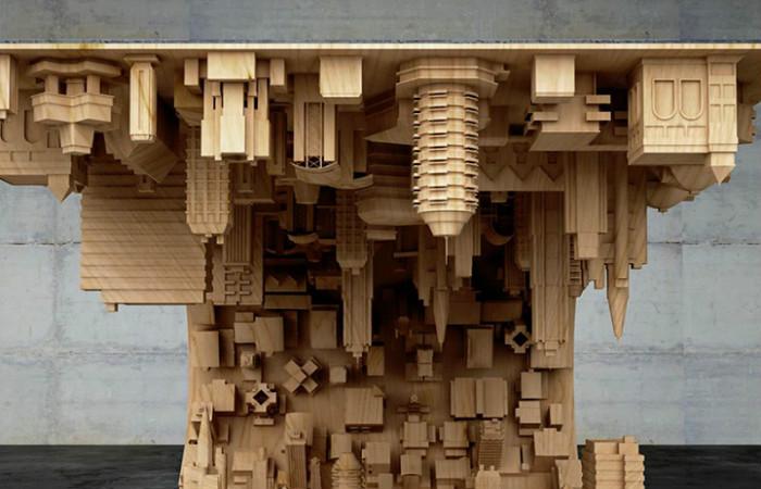 Необычный стол, созданный под влиянием фильма
