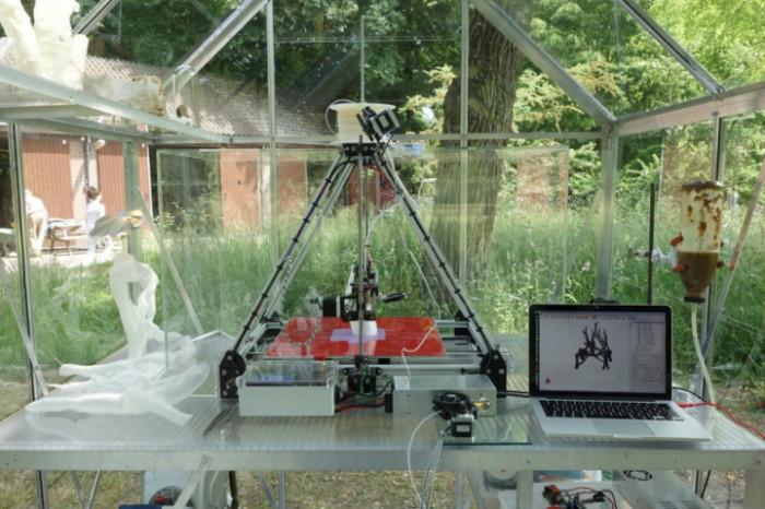 3D-принтер печатающий мебель