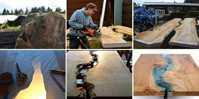 Процесс создания уникальной мебели