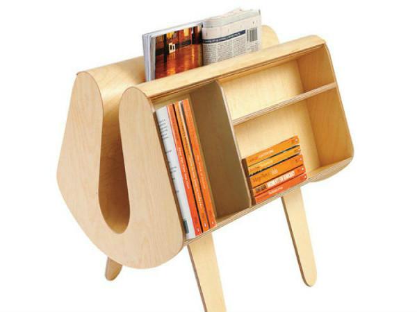 Хранение книг - красиво и практично (дизайнер Дэвид Харрисон)