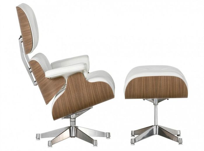 Знаменитое кресло Eames Lounge, созданное Чарльзом и Рэй Имз