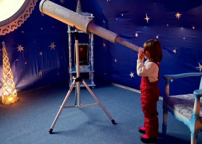 Обсерватория в резиденции Деда Мороза