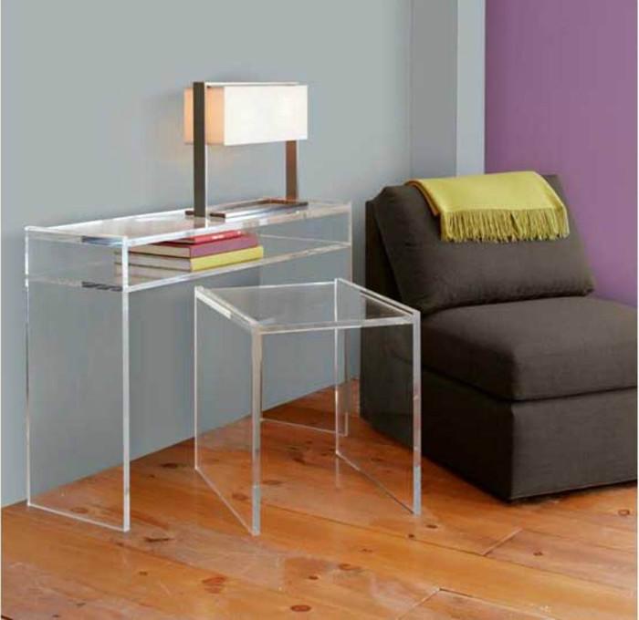 Акриловая прозрачная мебель