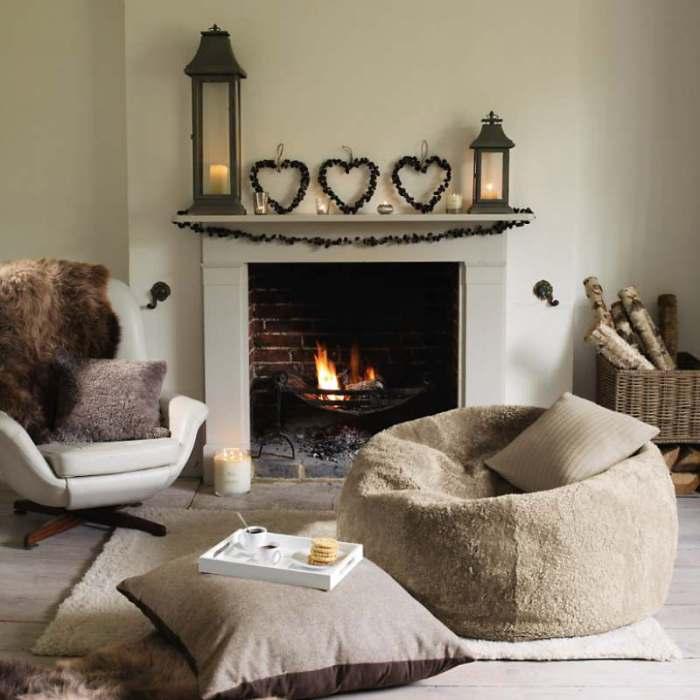 Бескаркасная мебель дарит ощущение комфорта