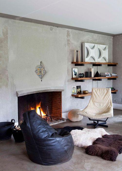 Осенний дизайн кресла
