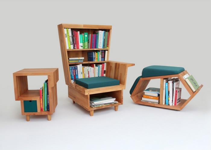 Новый тип мебели от дизайнера Люсии Громпоун (Lucia Grompone).