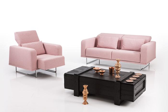 Чёрный и розовый