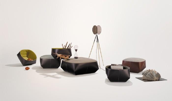 Мебель с геометрическими формами
