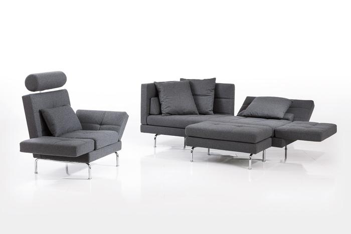 Мебель с регулируемыми подлокотниками и спинкой