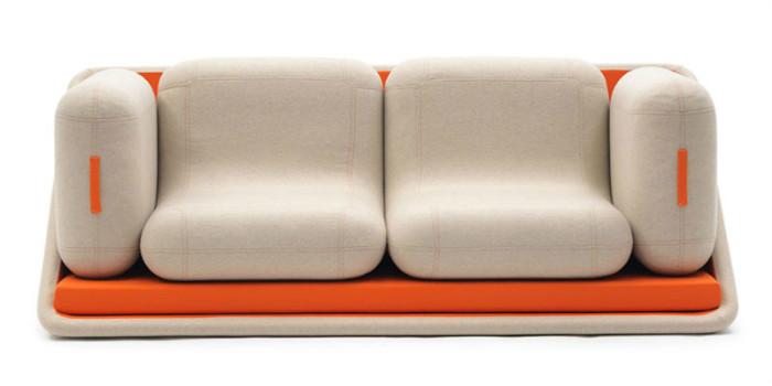 Компактный и яркий диван Concentrе de Vie (Фокусы жизни)