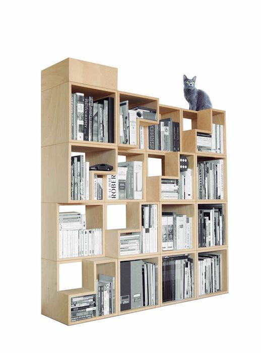 Книжный стеллаж Cat Library, дизайн-студия Corentin Dombrecht