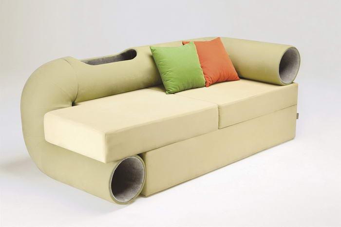 Диван Cat Tunnel Sofa, дизайн – Сеунгжи Мун