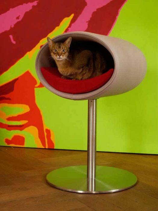 Красиво в интерьере и удобно для кошек