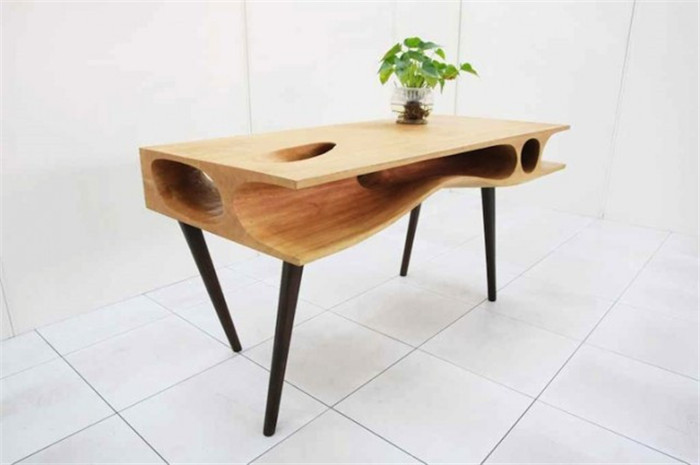 Стол CATable с тоннелями и ходами от китайского дизайнера Руан Хао (Ruan Hao)