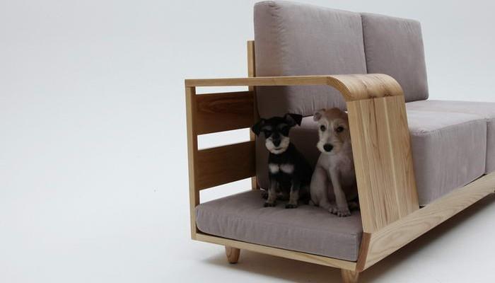 Диван Dog House Sofa, дизайнер Сеунгжи Мун (Seungji Mun)