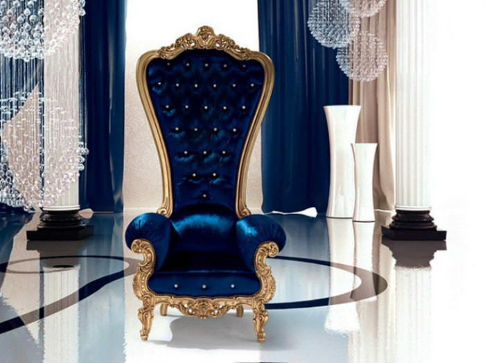 Кресло Caspani создано из современных материалов