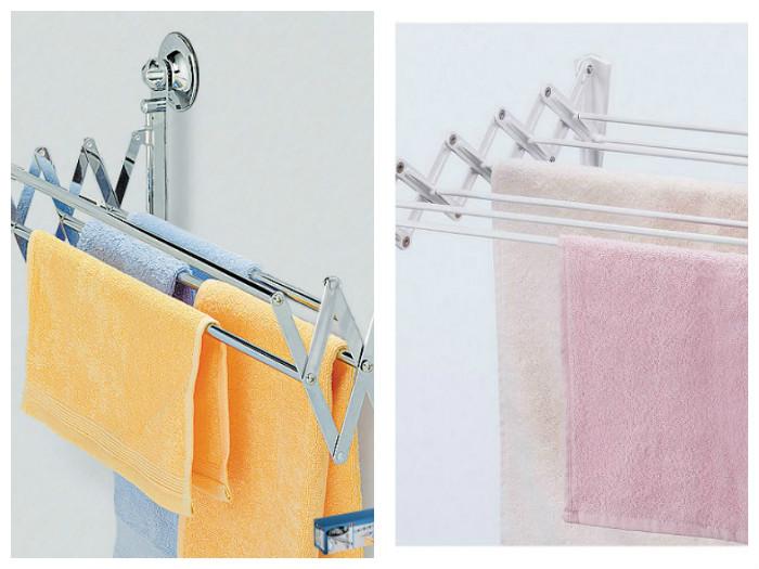 Настенные варианты хорошо подходят для ванной комнаты или для балкона